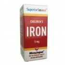Children's Iron 100tabl, Superior Source