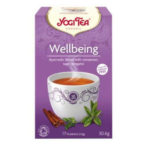Yogi Tea, Wellbeing yrtti- ja maustetee