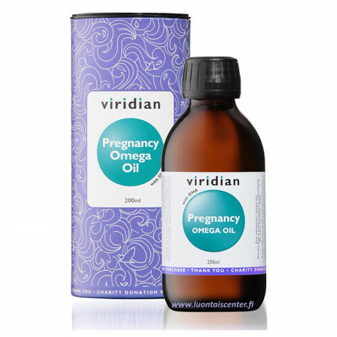 Viridian Pregnancy Omega oil, 200ml