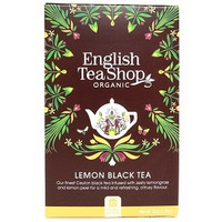 English tea shop, lemon black tea, 20pss
