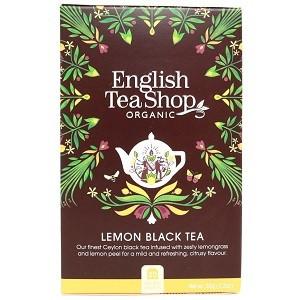 English tea shop, lemon black tea, 20pss