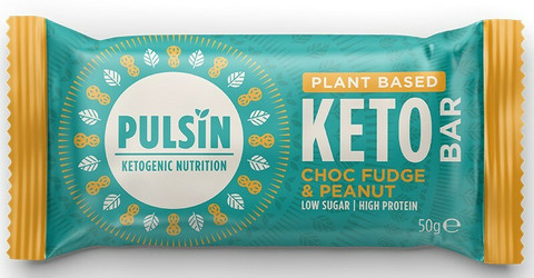 Keto proteiinipatukka suklaafudge & maapähkinä, Pulsin