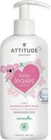 2in1 Shampoo & Bodywash-pesuaine vauvoille, Attitude