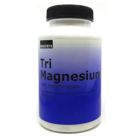Tri Magnesium 100kaps, Nordicvita