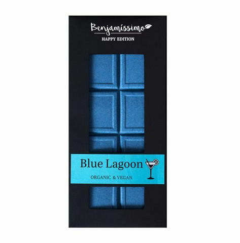 Benjamissimo, sininen spirulinasuklaa, 60g