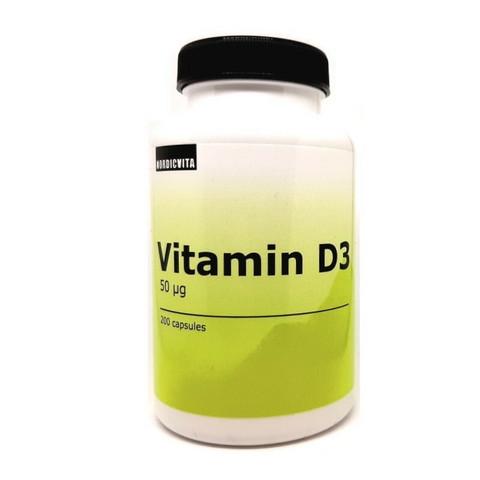D-vitamiini 50 mcg, Nordicvita