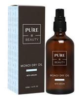 Monoi kuivaöljy + Argan, PureBeauty