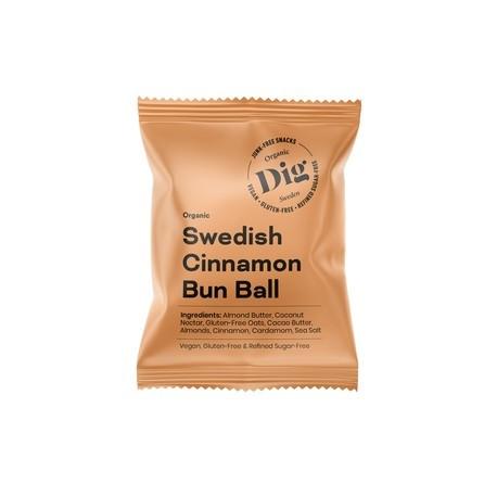 Dig Kanelipulla-pallo, vegaaninen 25g
