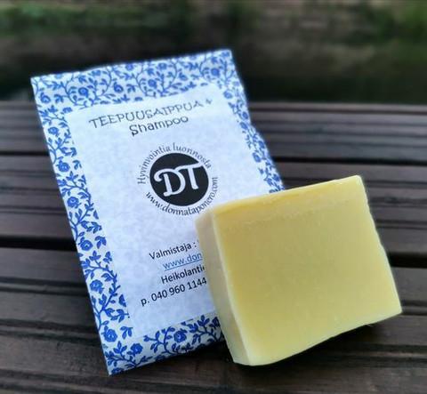 Teepuupalasaippua & shampoo n. 90g, Donna Taponero