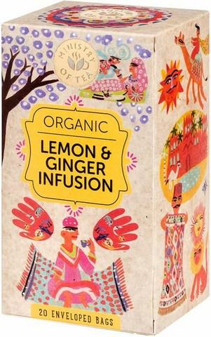 Lemon & Ginger infusion 20x35g, Ministry of Tea