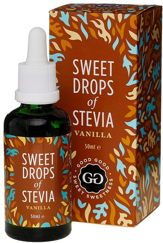 Stevia uute vanilja 50ml, Good Good