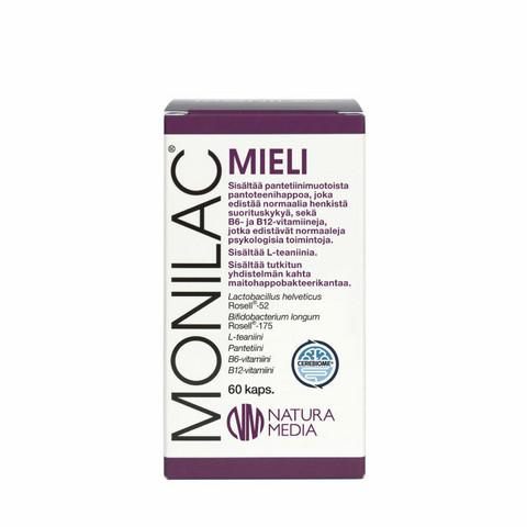 Monilac Mieli, 60 kaps, Natura Media