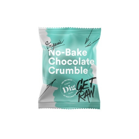 Chocolate crumble 35g, Get raw