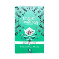 Super Goodness, Cranberry, Hibiscus & Rosehip, English Tea Shop