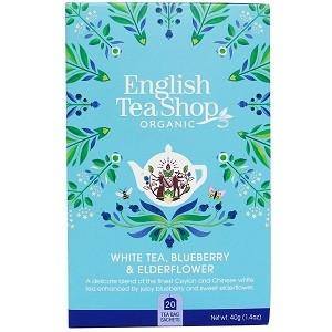 White tea, Blueberry & Elderflower, English Tea Shop