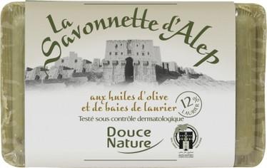 Oliivi alepposaippua 100ml, Douce Nature