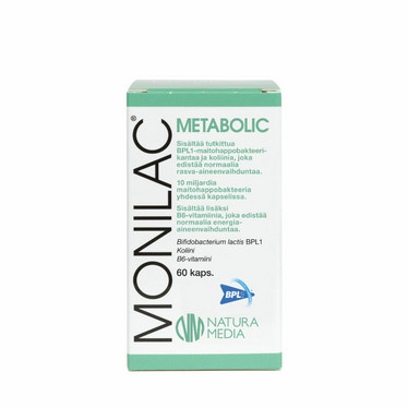 Monilac Metabolic, 60 kaps, Natura Media