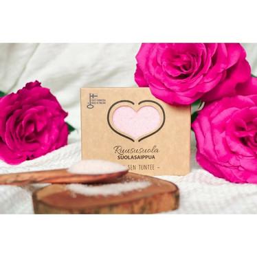 Ruusu suolasaippua 120 g, Catteco