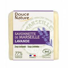 Aito vaalea marseillesaippua laventeli, Douce Nature