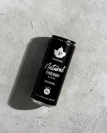 Natural energy drink, Puhdistamo