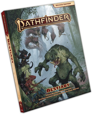 Pathfinder Bestiary P2 Hard Cover
