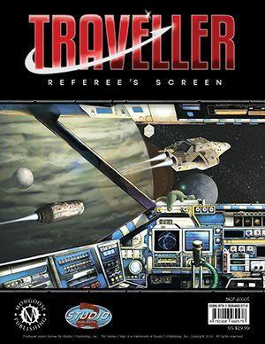 Traveller Referee's Screen