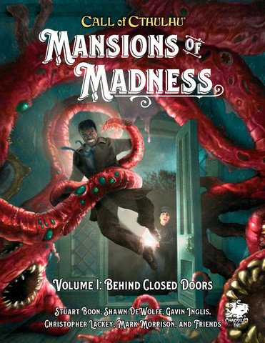 Call of Cthulhu Mansions of Madness Vol. 1 Behind Closed Doors