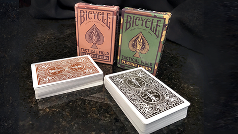 Bicycle Tactical Field Green/Brown Camo Mix Playing Cards 1 Deck