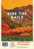 Ride the Rails Australia & Canada Map