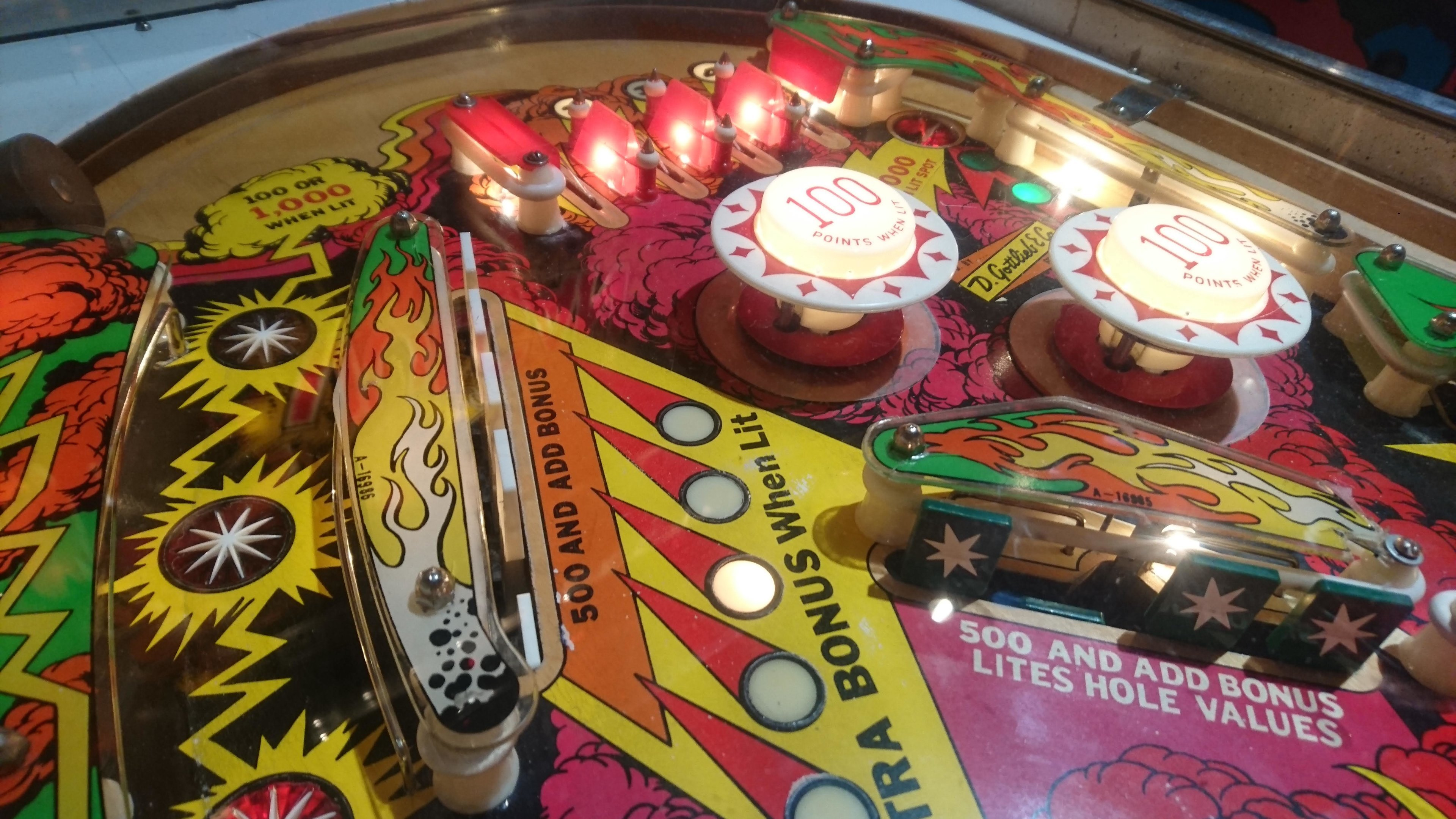 European Pinball Championship 2018 ja Blast! From The Past tunnelmia