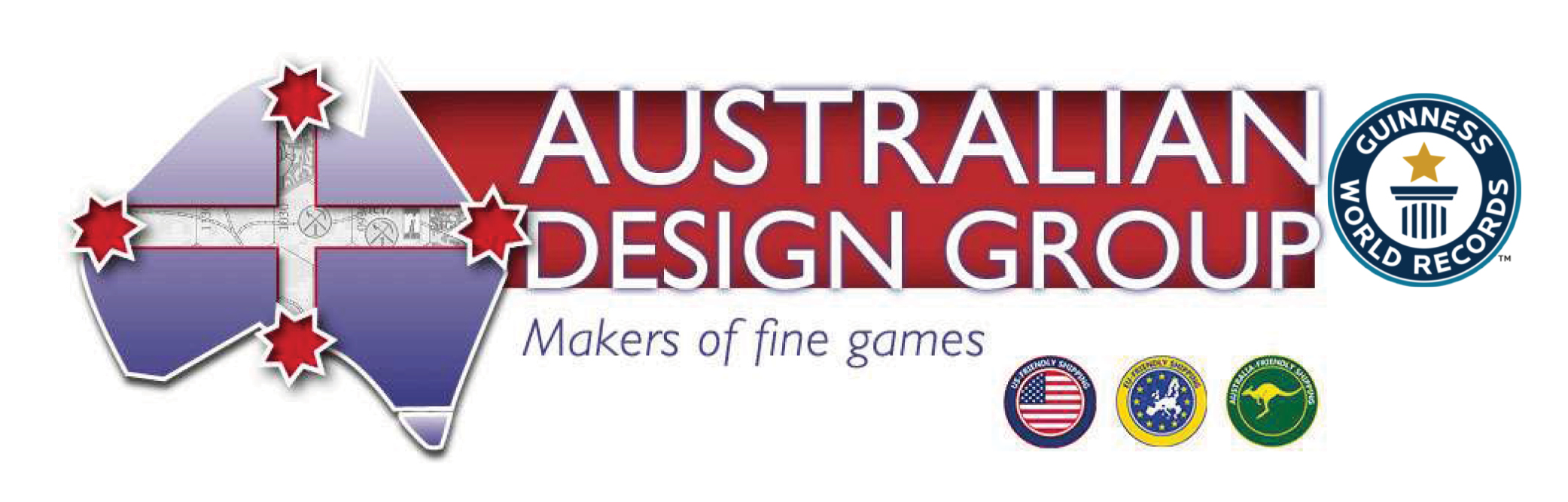 Australian Design Group -suoratilaushinnasto