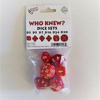 Koplow Who Knew? -noppasetti