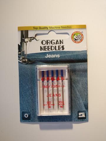 Organ jeans -ompelukoneneula