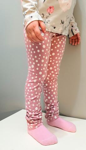SUUCCO-legginssit roosa pilkut