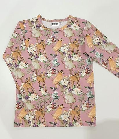 SUUCCO paita eläimet roosa
