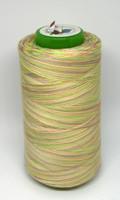 Monivärinen ompelulanka 100% polyesteri - pastelli