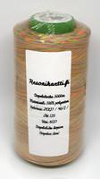 Monivärinen ompelulanka 100% polyesteri - sateenkaari
