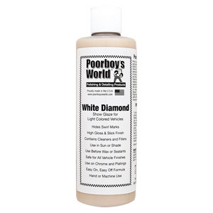 Poorboy's Word White Diamond Glaze   946ml