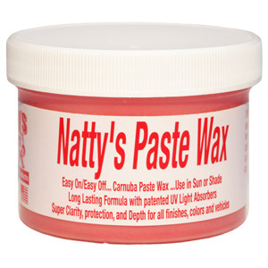 Poorboy's World  Natty's Paste Wax Red, 227gr