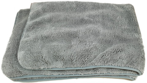 Mikrokuitu kuivausliina 820gsm, 60 x 90cm, Harmaa