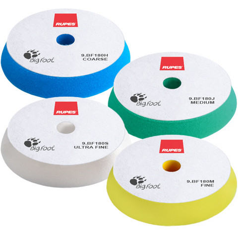 Rupes Laikat 180mm, Sininen, Vihreä, Keltainen, Valkoinen