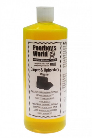Poorboy's World Carpet and Upholstery Cleaner, 473ml