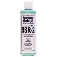 Poorboy's World SSR 2 Medium Abrasive Swirl Remover, 473ml, 3.8L