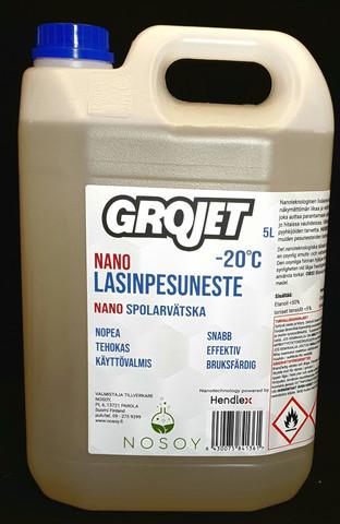 Grojet Nano lasinpesuneste 5L
