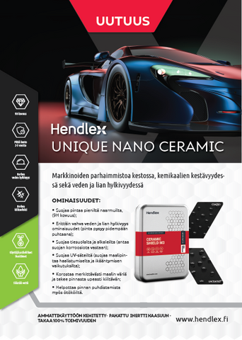 Hendlex Car Body Ceramic Shield M3 -set