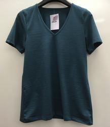 Engel naisten silkkivillainen paita lyhyillä hihoilla