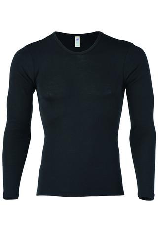 Engel miesten musta pitkähihainen paita