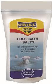 Uriel FC321 Kuolleen meren jalkakylpysuola 600g