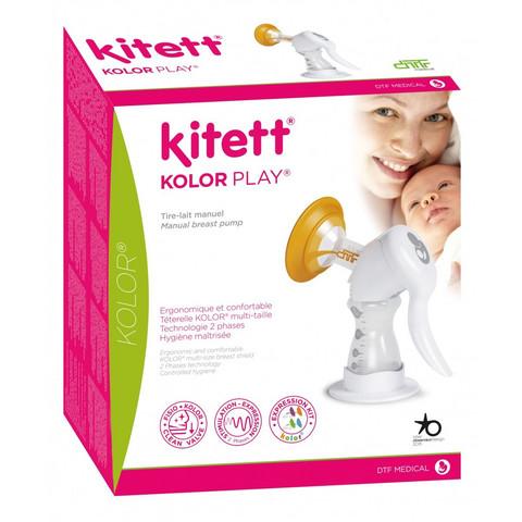 Kitett Kolor Play manuaalinen rintapumppu