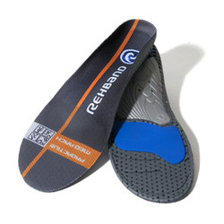 Rehband Tech insoles proactive -  medium jalkakaaren tuki
